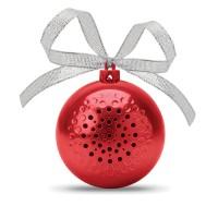 Ηχείο σε σχήμα μπάλας Χριστουγέννων.