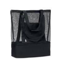 Τσάντα για ψώνια με πλέγμα από 600D RPET.