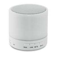 Στρογγυλό ηχείο Bluetooth με LED.