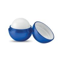 Στρογγυλό lip balm με φινίρισμα UV.
