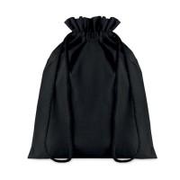 Μεσαίου μεγέθους βαμβακερή τσάντα με κορδόνι.