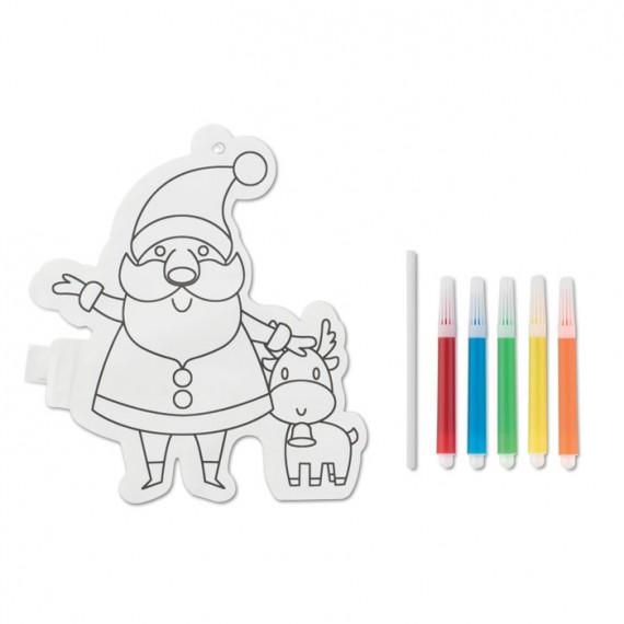 Χρωματιστό μπαλόνι Άγιος Βασίλης.