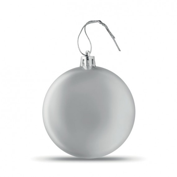 Flat Christmas bauble