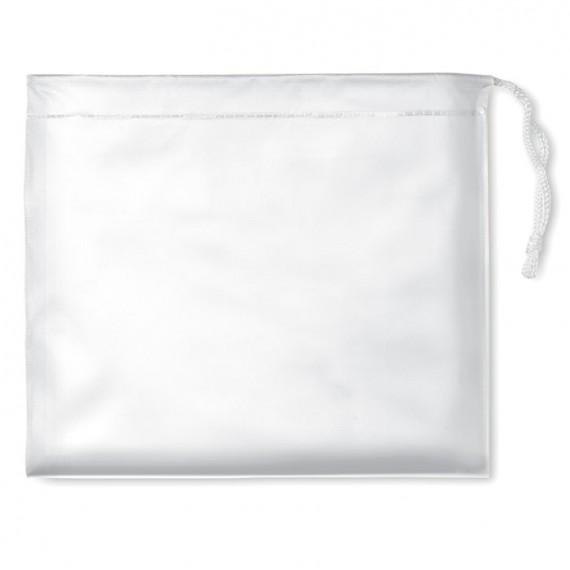 Αδιάβροχο σε διαφανή συσκευασία.