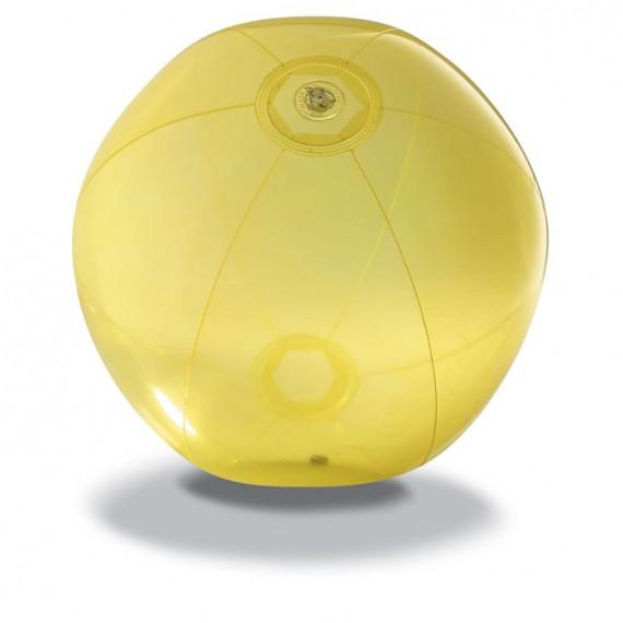Διαφανής μπάλα παραλίας.