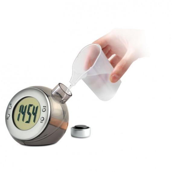 Ρολόι γραφείου LCD τροφοδοτούμενο με νερό.