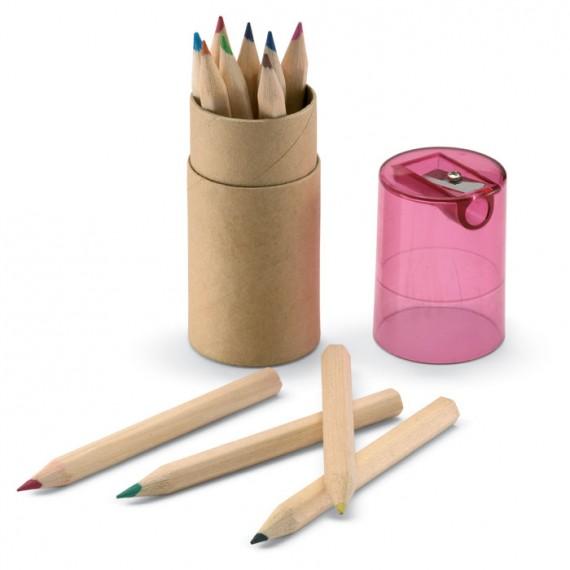 12 χρωματιστά μολύβια.
