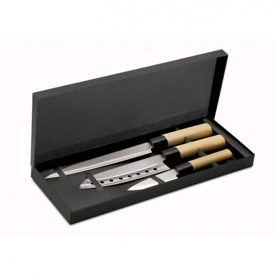 Σετ μαχαιριών Ιαπωνικού στυλ.
