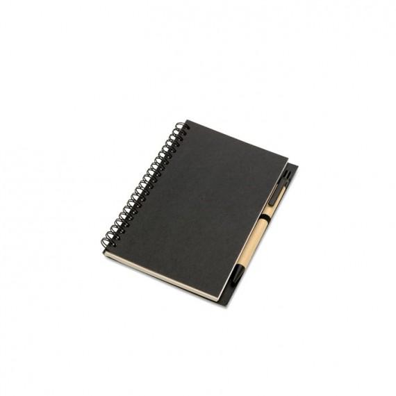 Ανακυκλωμένο σημειωματάριο και στυλό.