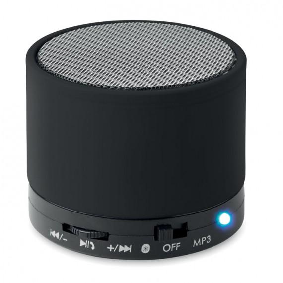Στρογγυλό ηχείο Bluetooth.
