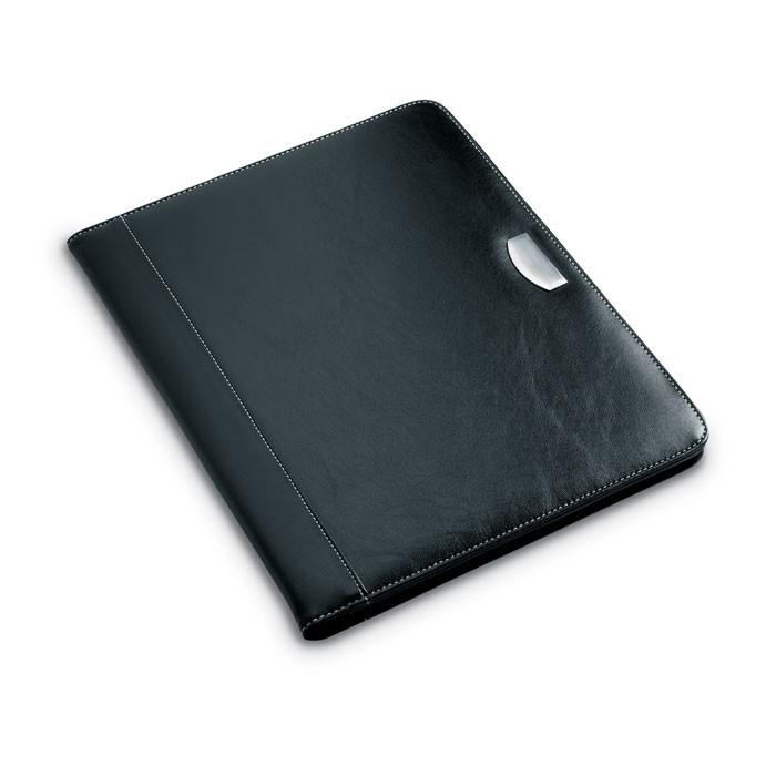 Χαρτοφύλακας από PU με μπλοκ 20 σελίδων.