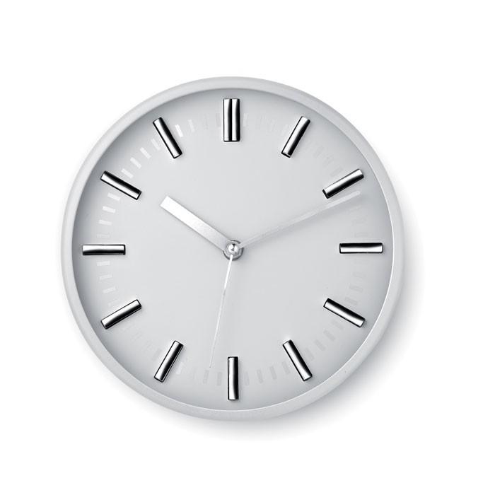Στρογγυλό ρολόι τοίχου.