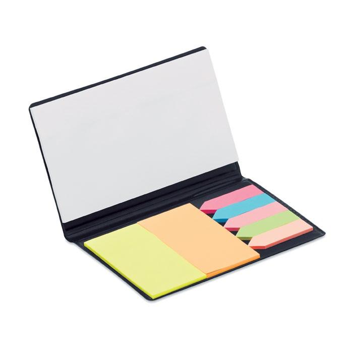 Χρωματιστά αυτοκόλλητα και σημειωματάριο.