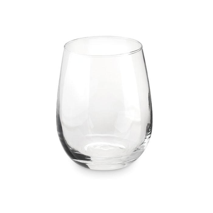 Γυάλινο ποτήρι σε συσκευασία δώρου.