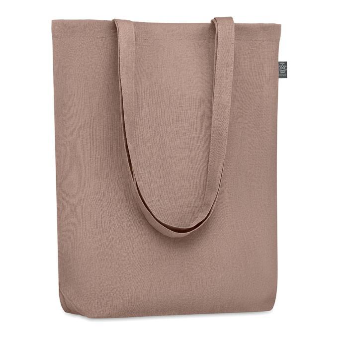 Τσάντα για ψώνια από κλωστική κάνναβη 200 gr / m².