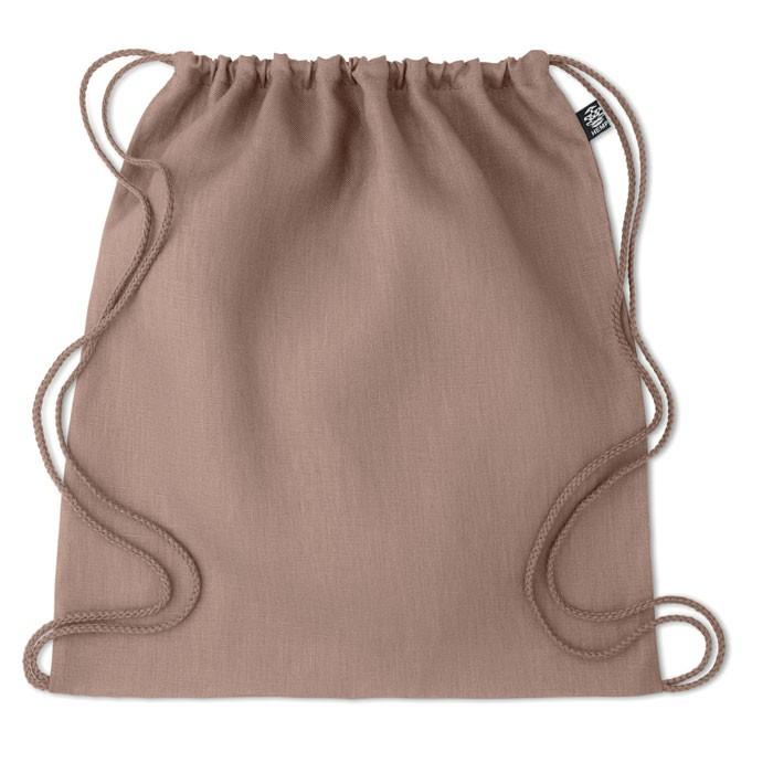 Τσάντα με κορδόνια από κλωστική κάνναβη 200 gr/m².