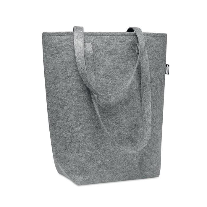 RPET  τσόχινη τσάντα για ψώνια.