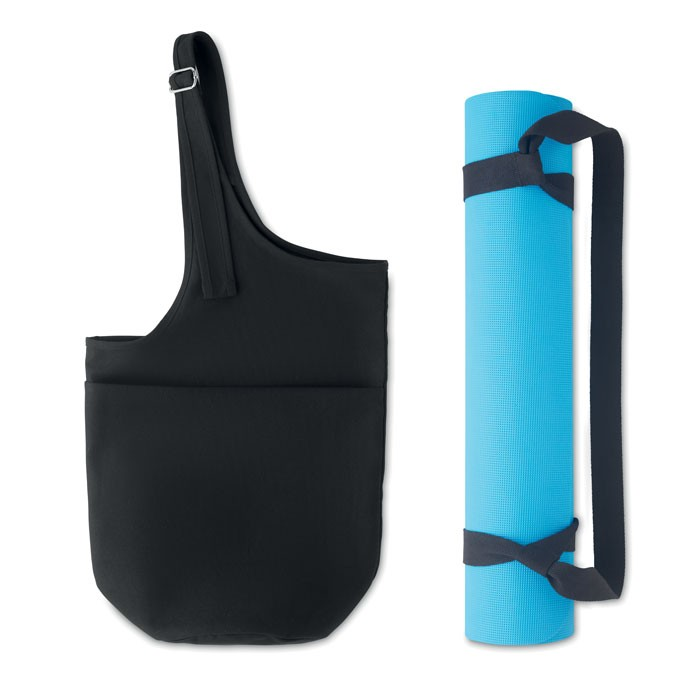 Fitness yoga matt rope and bag