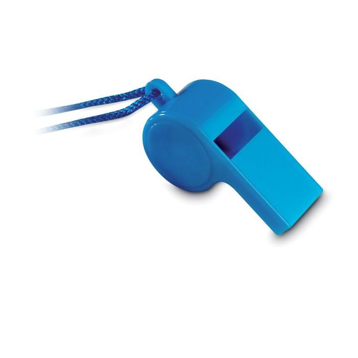 Σφυρίχτρα με σκοινάκι ασφαλείας.