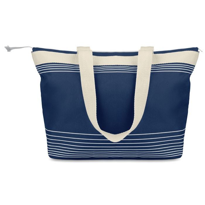 Τσάντα παραλίας από πολυεστέρα και καμβά.