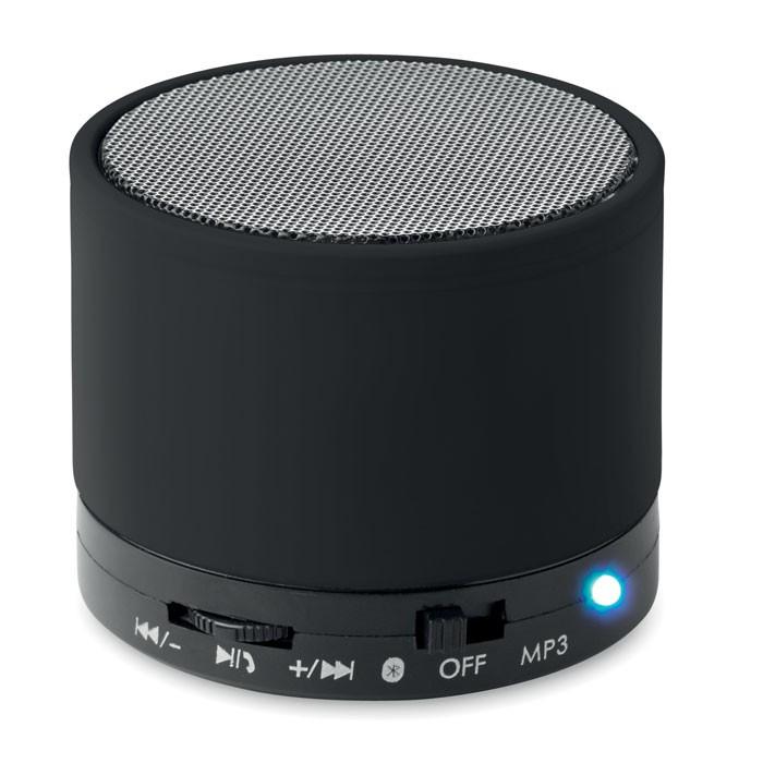 Round wireless speaker