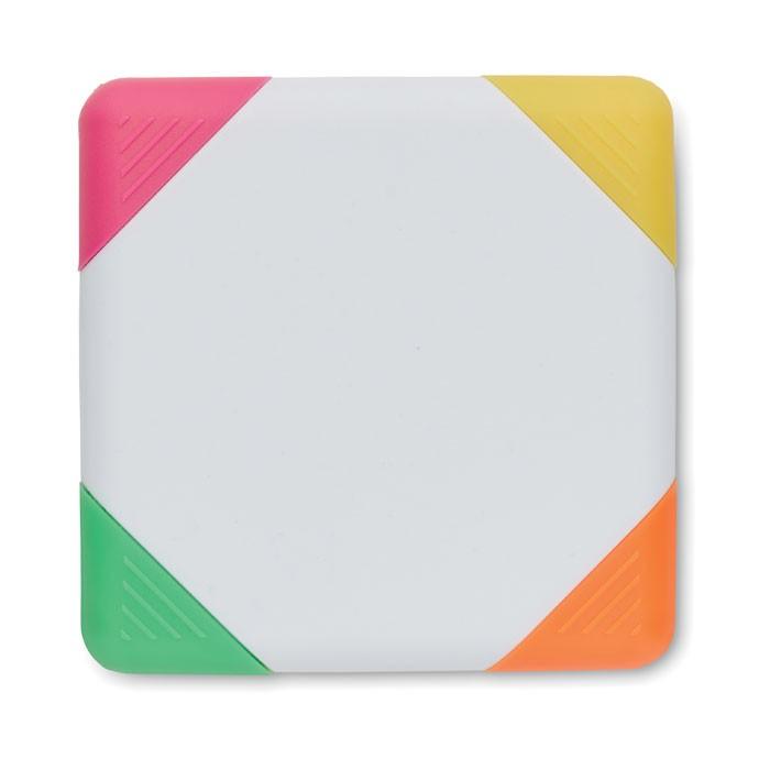 Highlighter σε τετράγωνο σχήμα.