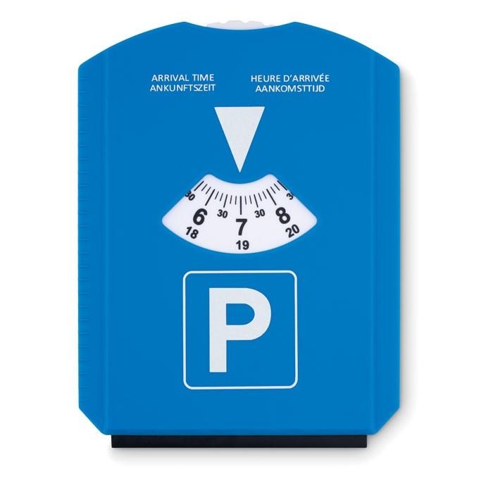 Κάρτα παρκαρίσματος με ξύστρα πάγου.