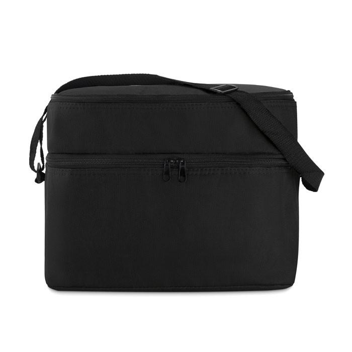 Ισοθερμική τσάντα με 2 διαμερίσματα.