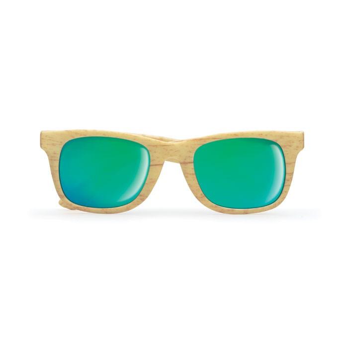 Ξύλινα γυαλιά ηλίου.