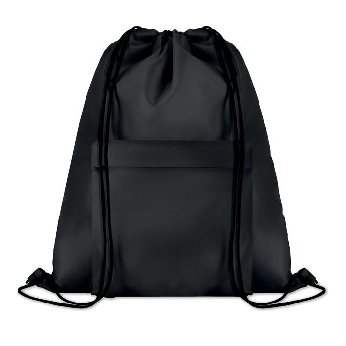 Μεγάλη τσάντα πλατής με κορδόνι.