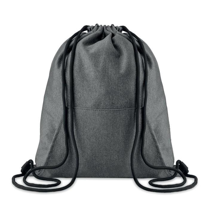 Τσάντα με κορδόνια και τσέπη.