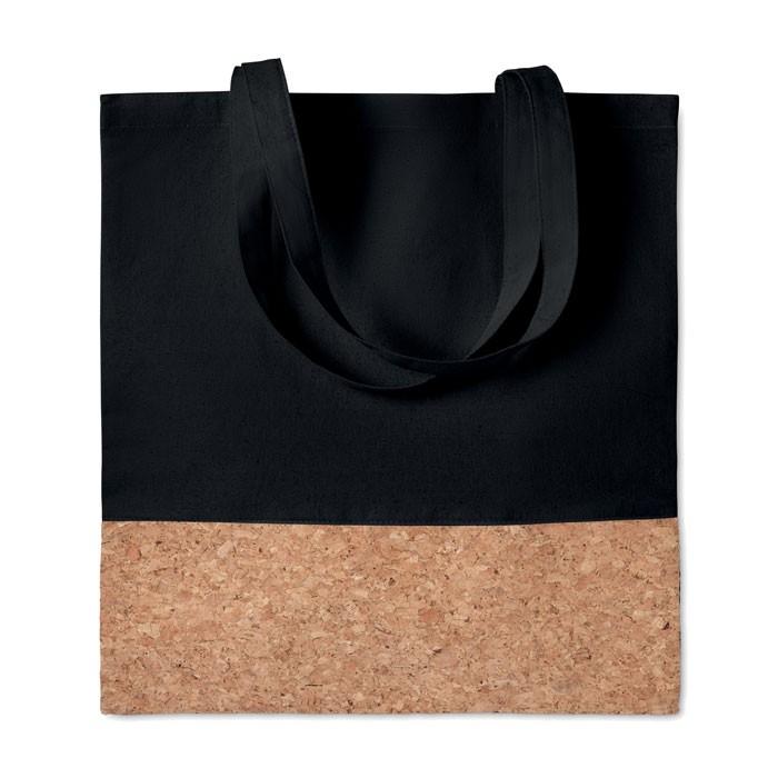 Shopping bag cork details