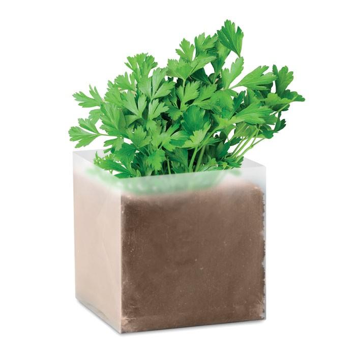 Συσκευασία με σπόρους μαϊντανού.