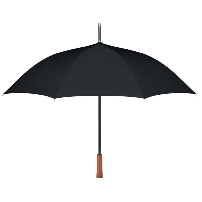 Ομπρέλα με ξύλινη λαβή 23 ιντσών.