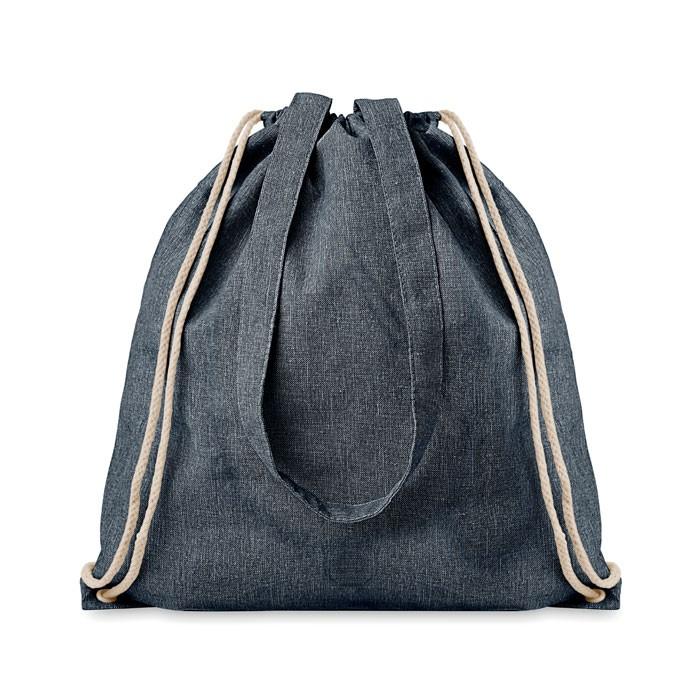 Ανακυκλώσιμη τσάντα πλάτης με χερούλια.