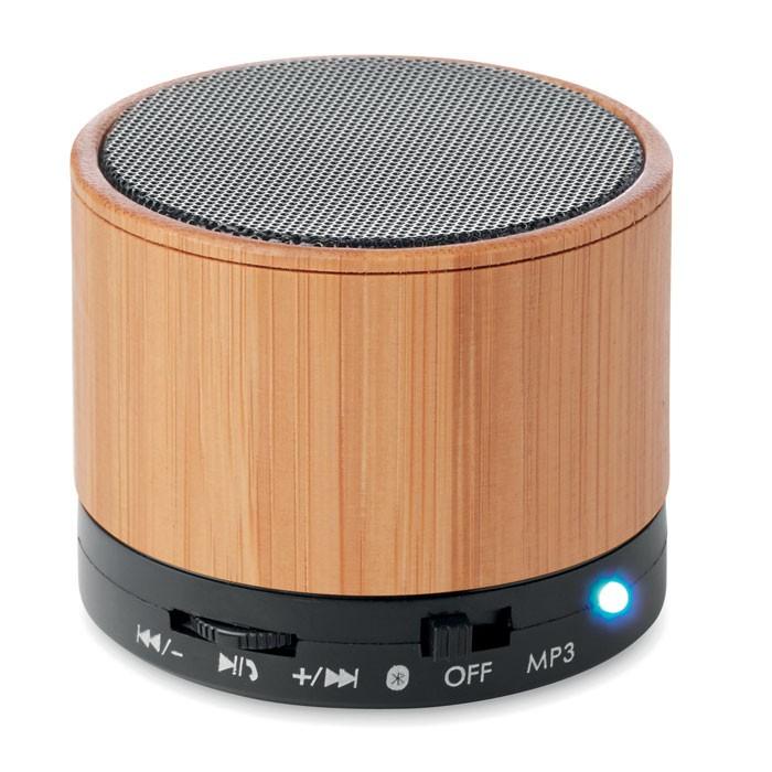 Bluetooth ηχείο από μπαμπού 3W.