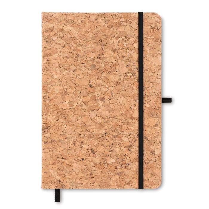 Α5 σημειωματάριο με κάλυμμα από φελλό.