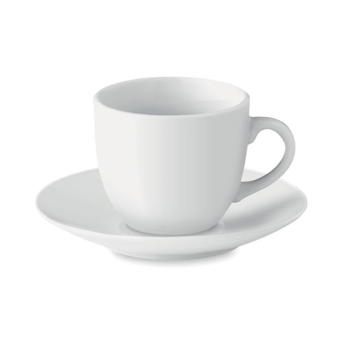 Φλιτζάνι espresso 80 ml με πιατάκι.