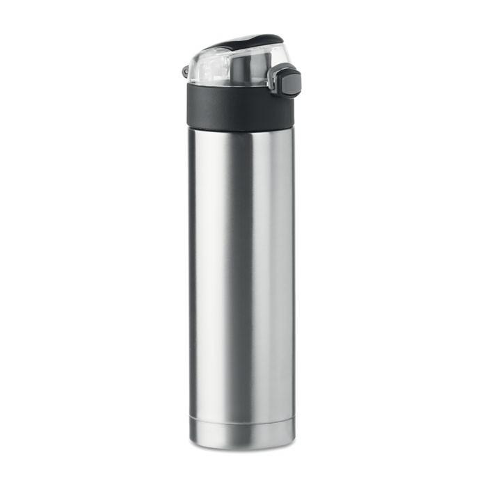 Μπουκάλι ασφαλείας  από ανοξείδωτο ατσάλι 400 ml.