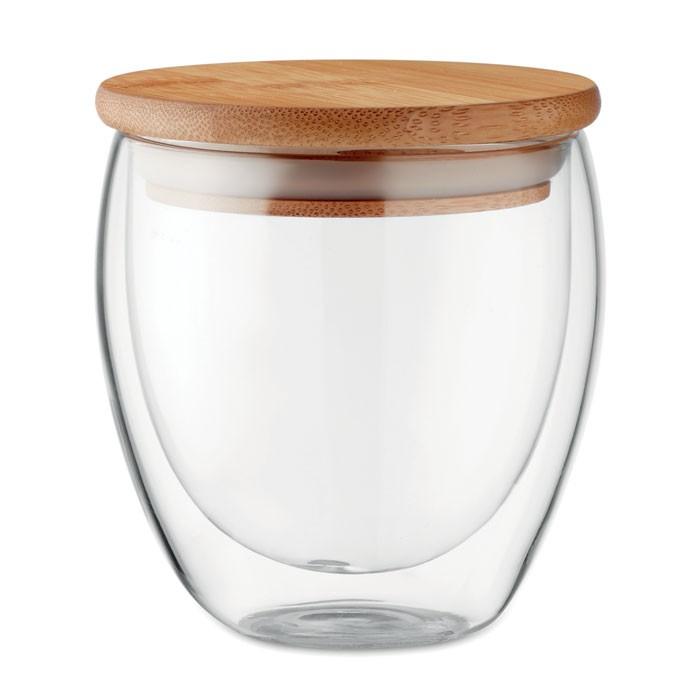Ποτήρι διπλού τοιχώματος 250 ml.