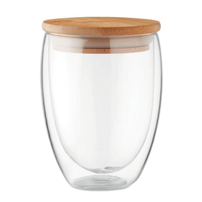 Ποτήρι διπλού τοιχώματος 350 ml.