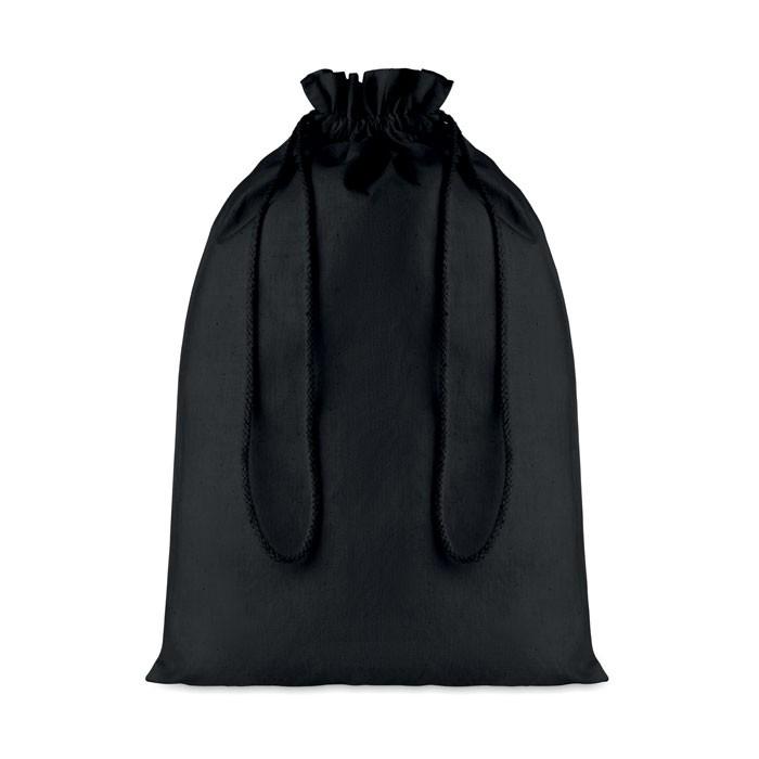 Μεγάλη βαμβακερή τσάντα με κορδόνι.