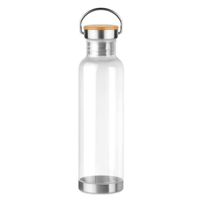 Tritan μπουκάλι με καπάκι από μπαμπού 800 ml.