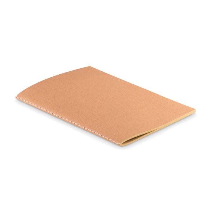 A5 Cardboard cover (250gr/m²).