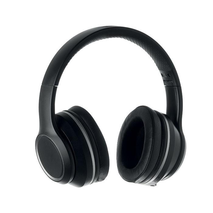 Ακουστικά ANC σε θήκη.
