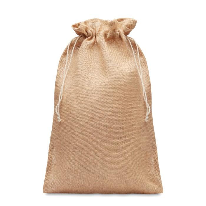 Μεγάλη τσάντα δώρου από γιούτα  30 x 47εκ.