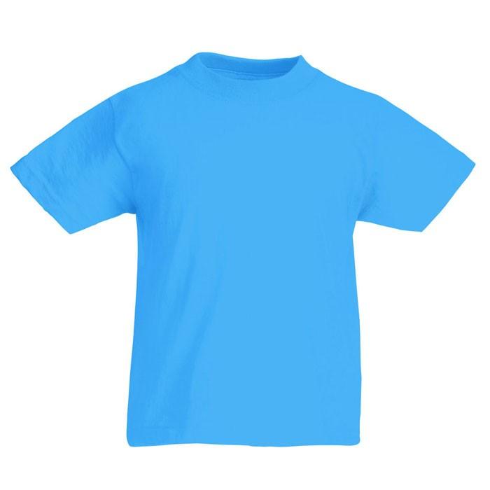 Παιδικό κοντομάνικο μπλουζάκι 145 g/mΒ².