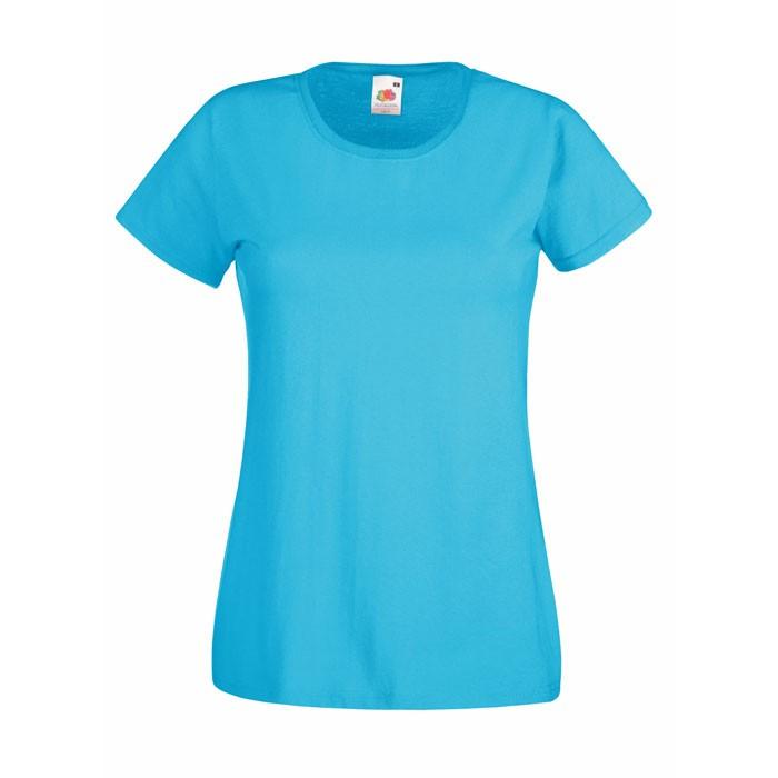 Lady-fit t-shirt 165 g/mΒ².