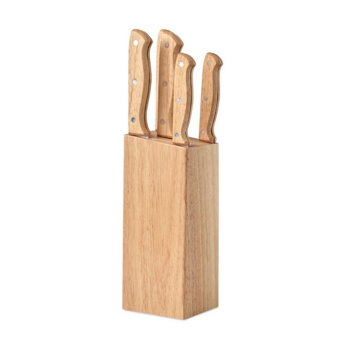 Βάση μαχαιριών 5 τεμαχίων.
